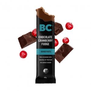 BC Chocolate Cranberry Fudge