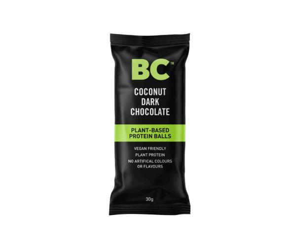 BC Dark Chocolate Coconut Balls