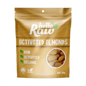 Hello Raw Activated Almonds