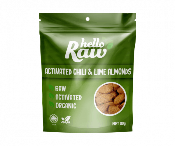 Hello Raw Activated Chilli & Lime Almonds