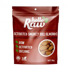 Hello Raw Activated Smokey BBQ Almonds