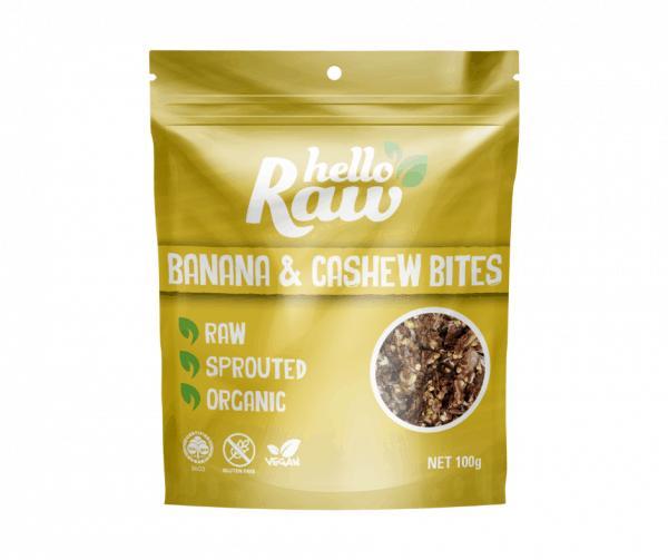 Hello Raw Banana & Cashew Bites