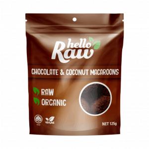 Hello Raw Chocolate & Coconut Macaroons