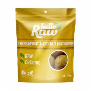 Hello Raw Passionfruit & Coconut Macaroons