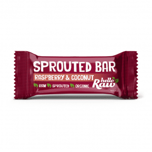 Hello Raw Raspberry & Coconut Sprouted Bar
