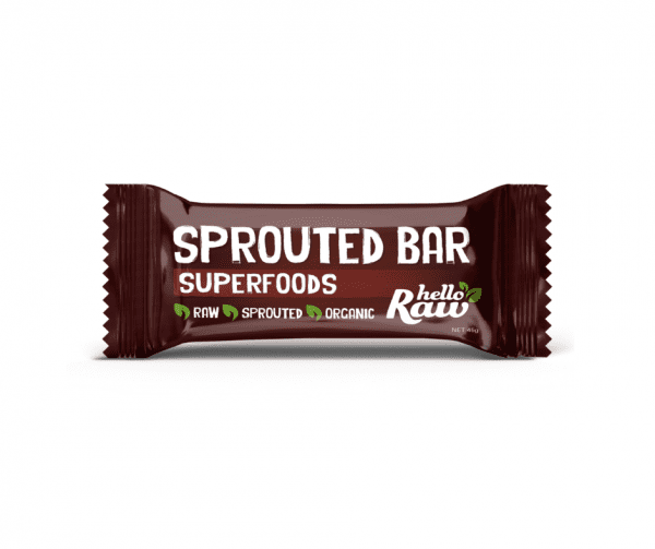 Hello Raw Superfoods Sprouted Bar