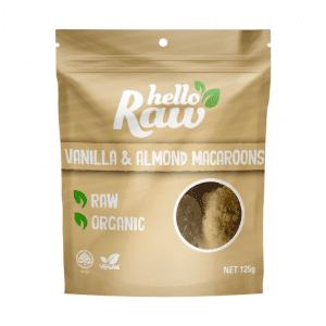 Hello Raw Vanilla & Almond Macaroons